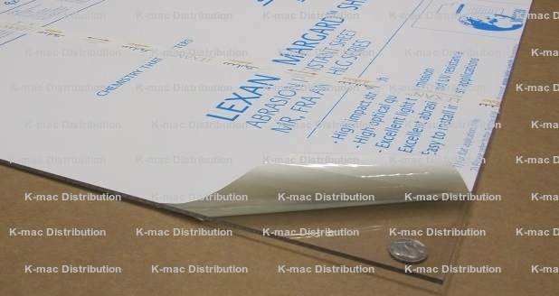 Polycarbonate Lexan Mr10 Uv Stabilized Sheets Clear